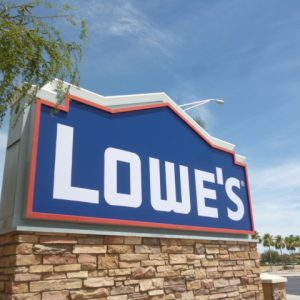 Custom Monument Sign For Lowes