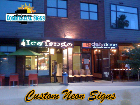 Custom Neon Sign Installation Phoenix Arizona