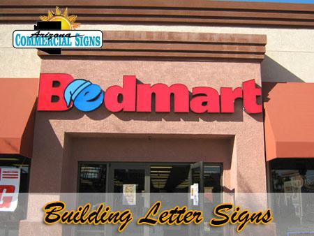 Exterior Building Letter Signs Phoenix