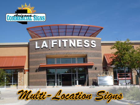 Multi Location Exterior Building Signs Phoenix