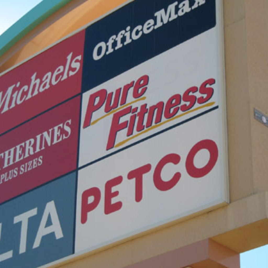 Retail sign company retail exterior signs phoenix commercial signs phoenix az for Exterior office signs