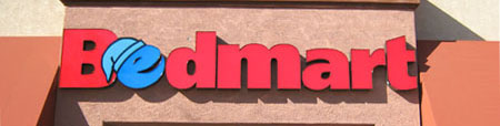 bedmart pan channel letter sign phoenix az