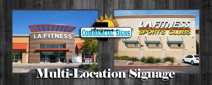Phoenix Multi-Location Signs