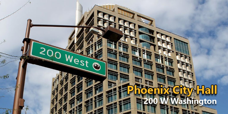 Where To Submit Commercial Sign Permits In Phoenix - Phoenix City Hall