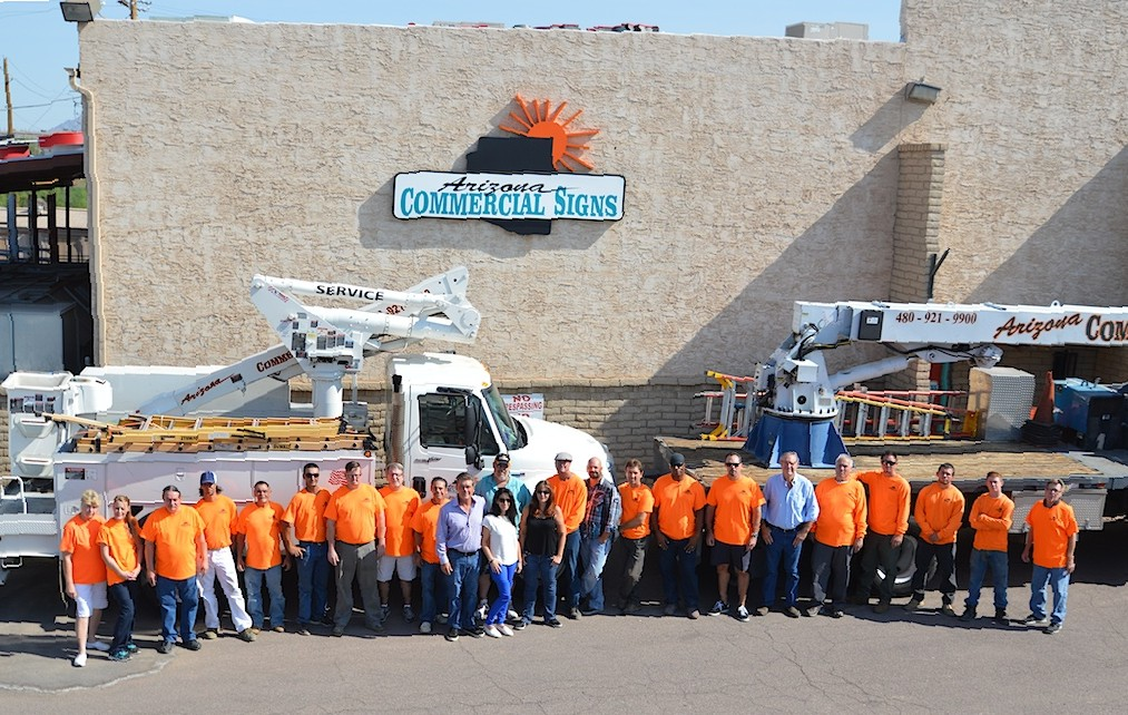 Arizona Commercial Signs Team