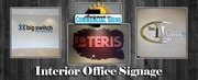 Interior Office Sign Services