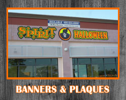 Banners & Plaques
