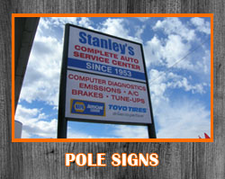 Pole Signs