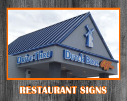 Restaurant & Business Signs