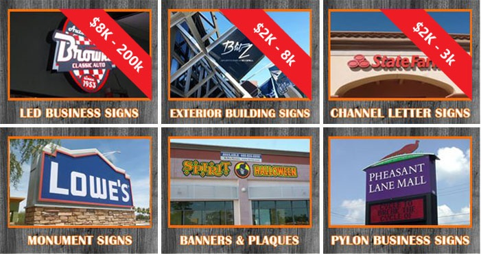 Sign Installation Cost 2020 Arizona