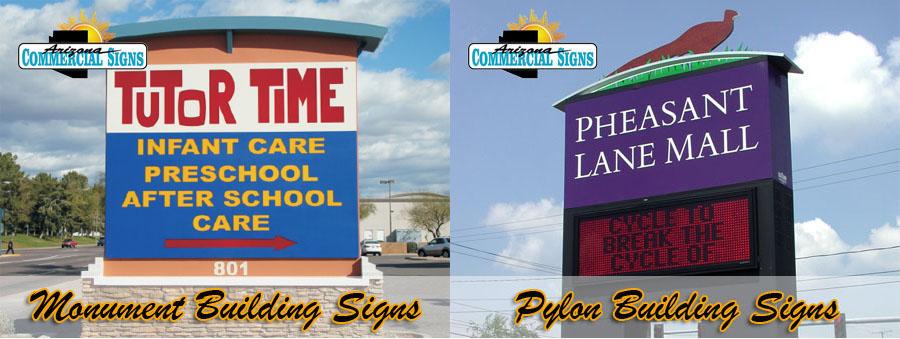 Monument Signs vs Pylon Signs